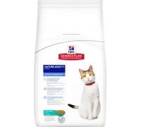 Hills Science Plan Feline Mature Adult 7+ Active Longevity Chicken сухой корм для пожилых кошек Тунец (Хиллс). Вес: 1,5 кг