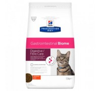 Hills Presсription Diet Gastrointestinal Biome Корм для Кошек с Курицей лечение заболеваний ЖКТ (Хиллс). Вес: 1,5 кг