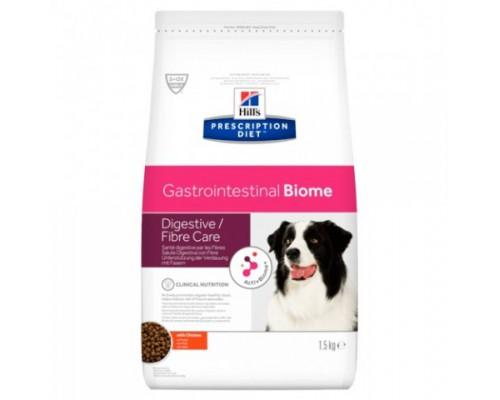 Hills Presсription Diet Gastrointestinal Biome Корм для Собак с Курицей профилактика заболеваний ЖКТ (Хиллс). Вес: 1,5 кг