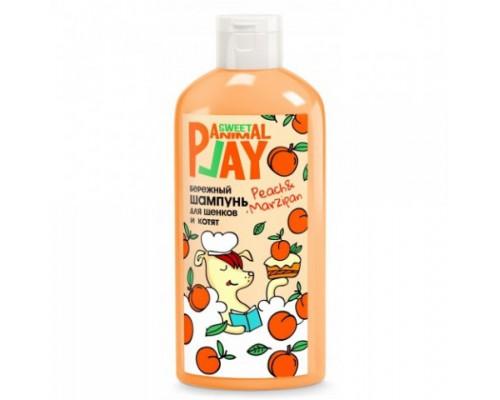 """Animal Play SWEET Шампунь """"Персиковый марципан"""" Бережный для щенков и котят (Энимал Плей). Объем: 300 мл"""
