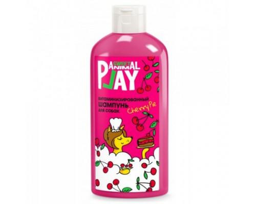 """Animal Play SWEET Шампунь """"Вишневый пай"""" Витаминизированный для собак (Энимал Плей). Объем: 300 мл"""