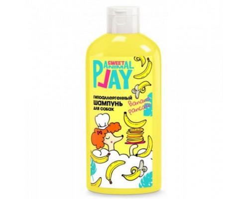 """Animal Play SWEET Шампунь """"Банановый панкейк"""" Гипоаллергенный для собак (Энимал Плей). Объем: 300 мл"""