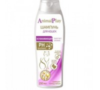 Animal Play Шампунь Успокаивающий с экстрактом мелиссы для кошек (Энимал Плей). Объем: 250 мл