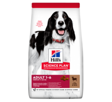 Hills Science Plan Canine Adult Advanced Fitness Lamb & Rice сухой корм для взрослых собак Ягненок/рис (Хиллс). Вес: 2,5 кг
