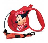 TRIOL Disney WD1003 Поводок-Рулетка Minnie S (3м до 12кг) Трос (Триол)