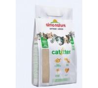 Almo Nature Cat Litter 100% Натуральный биоразлагаемый комкующийся наполнитель. Вес: 2,27 кг