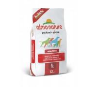 Almo Nature Для взрослых собак Крупных пород с говядиной (Large Adult Beef and Rice Holistic)