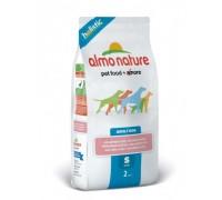 Almo Nature Для Взрослых собак Малых пород с Лососем (Small&Salmon Holistic). Вес: 400 г