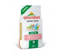Almo Nature Для Взрослых собак с Лососем (Medium&Salmon Holistic). Вес: 2 кг