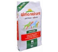 Almo Nature Для взрослых собак Средних пород с говядиной (Medium Adult Beef and Rice Holistic). Вес: 2 кг