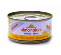 """Almo Nature Консервы для Кошек """"Куриное филе"""" 75% мяса (Legend Adult Cat Chicken Fillet). Вес: 70 г"""
