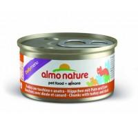 """Almo Nature Консервы для кошек """"Меню с Индейкой и Уткой"""" (Daily Menu Cat Turkey&Duck). Вес: 85 г"""