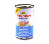 Almo Nature Консервы для Кошек с Атлантическим Тунцом (Classic Adult Cat Atlantic Tuna). Вес: 140 г