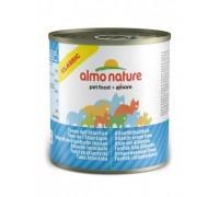 Almo Nature Консервы для кошек с Атлантическим тунцом (Classic Atlantic tuna). Вес: 280 г