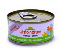 Almo Nature Консервы для Кошек с Курицей и Ананасом (Legend Adult Cat Chicken&Pineapple). Вес: 70 г