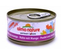 Almo Nature Консервы для Кошек с Курицей и Манго (Legend Adult Cat Chicken&Mango)