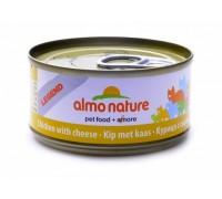 Almo Nature Консервы для Кошек с Курицей и Сыром 75% (Legend Adult Cat Chicken&Cheese)