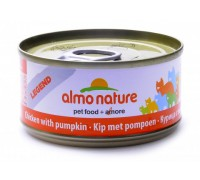 Almo Nature Консервы для Кошек с Курицей и Тыквой 75% мяса (Legend Adult Cat Chicken&Pumpkin). Вес: 70 г