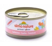 Almo Nature Консервы для Кошек с Лососем 75% мяса (Legend Adult Cat Salmon)