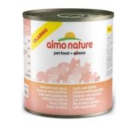 Almo Nature Консервы для Кошек с Лососем и Тыквой (Classic Adult Cat Salmon&Pumpkin). Вес: 280 г