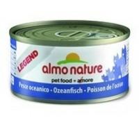 Almo Nature Консервы для Кошек с Океанической рыбой 75% мяса (Legend Adult Cat Oceanic Fish). Вес: 70 г