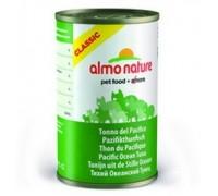 Almo Nature Консервы для Кошек с Тихоокеанским Тунцом (Classic Adult Cat Pacific Tuna). Вес: 140 г