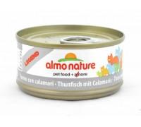 Almo Nature Консервы для Кошек с Тунцом и Кальмарами (Legend Adult Cat Tuna&Squids). Вес: 70 г