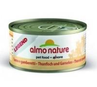 Almo Nature Консервы для Кошек с Тунцом и Креветками 75% мяса (Legend Adult Cat Tuna&Shrimps)