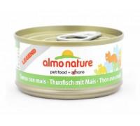 Almo Nature Консервы для Кошек с Тунцом и Сладкой кукурузой (Legend Adult Cat Tuna&Sweet Corn). Вес: 70 г