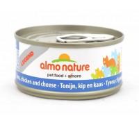 Almo Nature Консервы для Кошек с Тунцом, Курицей и Сыром (Legend Adult CatTuna, Chicken&Cheese)
