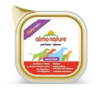 """Almo Nature Консервы для собак """"Меню с говядиной и картофелем"""" (Daily menu Beef and Potatoes). Вес: 300 г"""