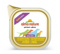 "Almo Nature Консервы для собак ""Меню с индейкой и цуккини"" (Daily menu Turkey and Courgette). Вес: 100 г"