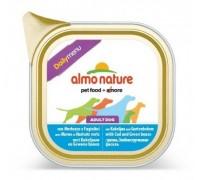 """Almo Nature Консервы для собак """"Меню с треской и стручковой фасолью"""" (Daily menu Cod and Green Beans)"""