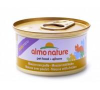 """Almo Nature Консервы нежный мусс для кошек """"Меню с Курицей"""" (Daili Menu Mousse Chicken). Вес: 85 г"""