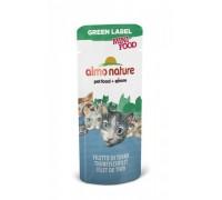 "Almo Nature Лакомство для кошек ""Филе Тунца"", 99% мяса (Green Label Mini Food Tuna Fillet). Вес: 3 г"