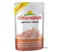 Almo Nature ПАУЧИ для Кошек с Лососем и Тыквой (Classic Adult Cat Salmon&Pumpkin). Вес: 55 г