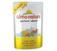 Almo Nature Паучи Курица в Желе для кошек (Jelly Cat Chicken). Вес: 55 г