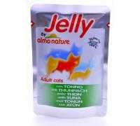 Almo Nature Паучи Тунец в Желе для кошек (Jelly Cat Tuna). Вес: 70 г