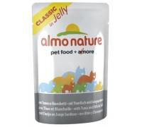 Almo Nature Паучи Тунец с Сардинками в Желе для кошек (Jelly Cat Tuna&White Bait)
