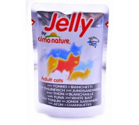 Almo Nature Паучи Тунец с Сардинками в Желе для кошек (Jelly Cat Tuna&White Bait). Вес: 70 г