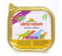Almo Nature Паштет для Собак с Курицей и Брокколи (Bio Pate Chicken&Brocolli). Вес: 300 г