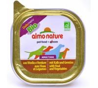 Almo Nature Паштет для Собак с Телятиной и овощами (Bio Pate Veal&Vegetables). Вес: 100 г