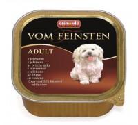 Animonda Консервы для собак с оленем (Vom Feinsten Forest). Вес: 150 г