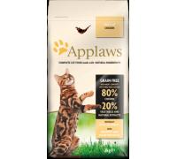 "Applaws Беззерновой для Кошек ""Курица/Овощи: 80/20%"" (Dry Cat Adult - Chicken). Вес: 400 г"