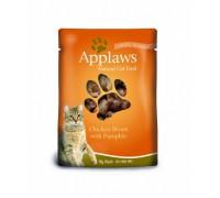Applaws Пауч для Кошек с Курицей и Тыквой (Cat Chicken & Pumpkin pouch). Вес: 70 г
