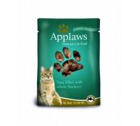 Applaws Пауч для Кошек с Тунцом и Анчоусами (Cat Tuna & Anchovy pouch). Вес: 70 г