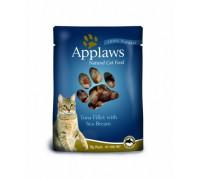 Applaws Пауч для Кошек с Тунцом и Морским окунем (Cat Tuna & Seabream pouch). Вес: 70 г
