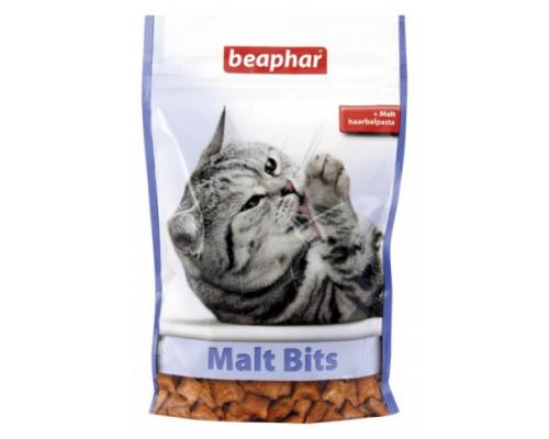Beaphar (Беафар) Подушечки Malt Bits для выведения шерсти из желудка. Вес: 35 г