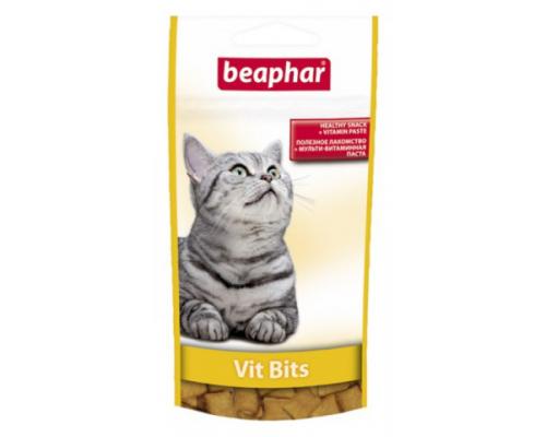 Beaphar (Беафар) Подушечки Vit Bits с мультивитаминной пастой для кошек. Вес: 35 г