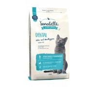 Bosch Sanabelle Dental Корм для кошек профилактика заболеваний полости рта Бош Санабелль Дентал